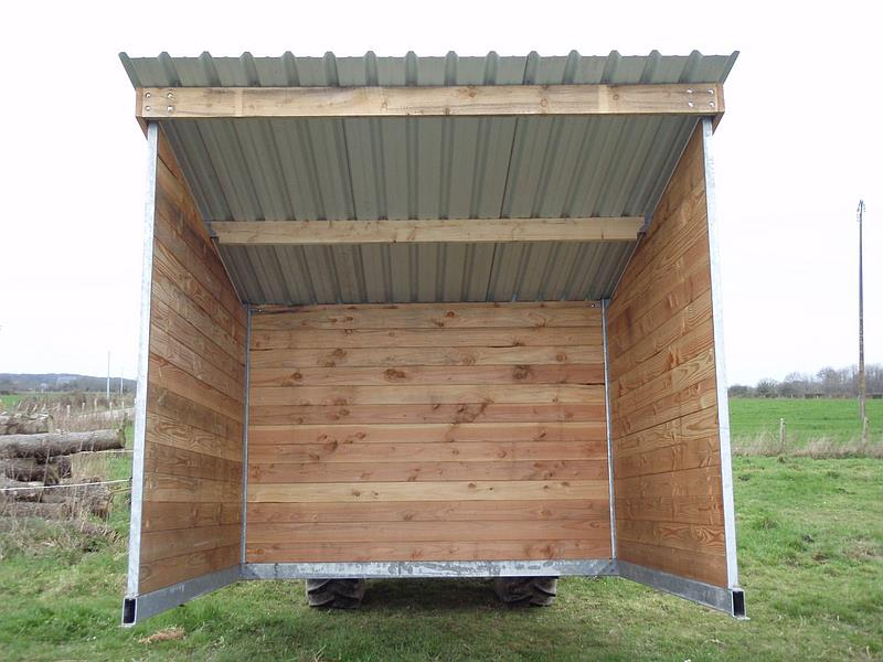cabane chevaux mobile